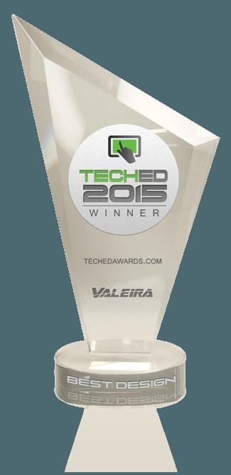 Tech Award Trophy Best Design 2015