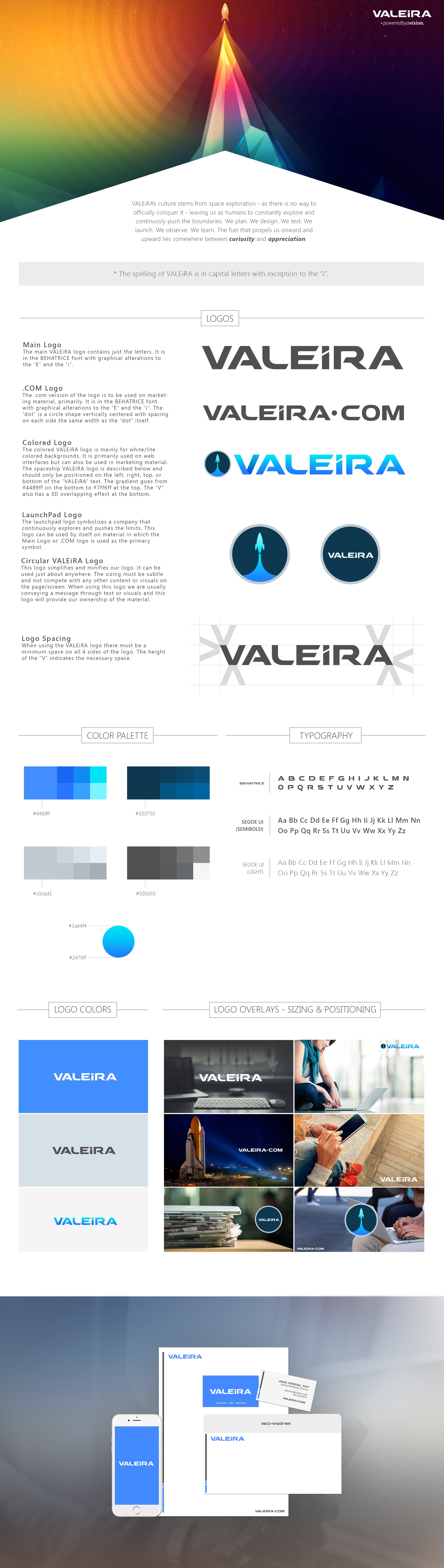 Style Guide Examples - VALEiRA